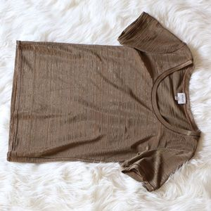 Armani brown top, made in Italy